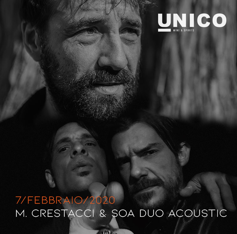 STAND UP COMEDY CON M.CRESTACCI & SONGS OF ANARCHY DUO ACOUSTIC